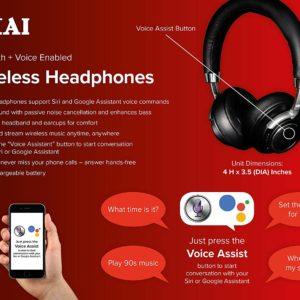 Akai Wireless Bluetooth Stereo Earphones