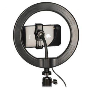 KSIX Ring LED  Small Tripod
