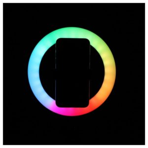 KSIX Ring RGB LED Small Tripod