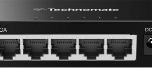 Technomate 5 Port Gigabit Desktop Switch