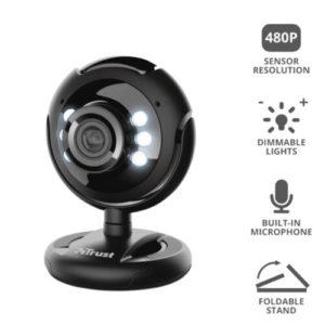 Trust Webcam With Led Lights