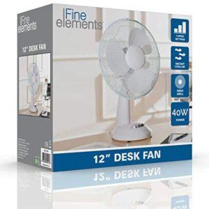 iFine Elements 12″ Desk Fan