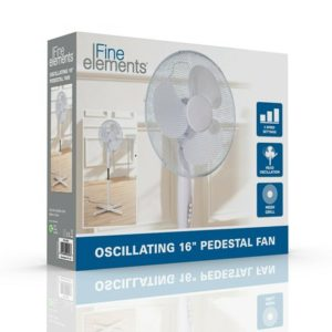iFine Elements 16″ Pedestal Fan